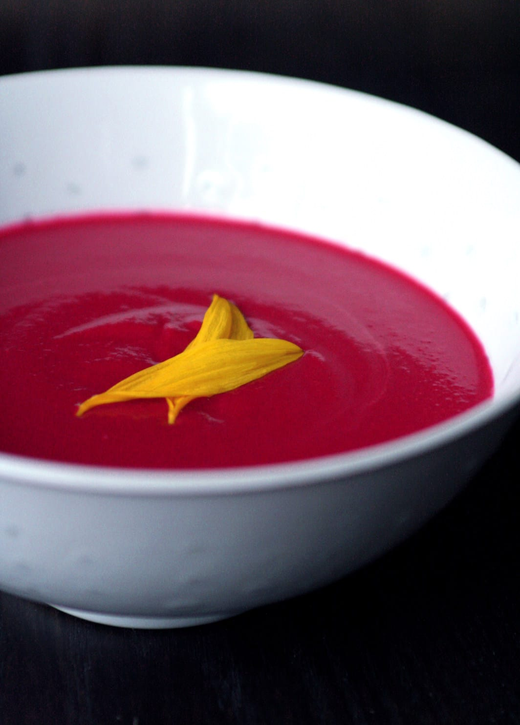 Beet & Cauliflower Soup