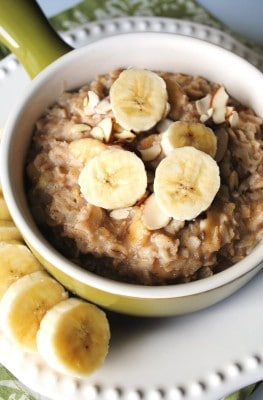 Dr. Fuhrman's Quick Oatmeal-Banana Breakfast To Go