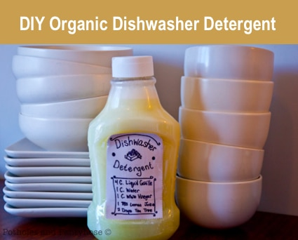 How To Make Organic Dishwasher Detergent