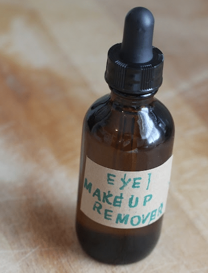 How To Make An Organic Eye Makeup Remover