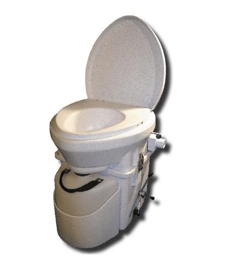 Waterless Toilette