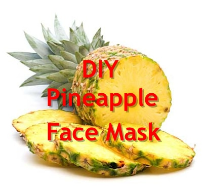 How To Make A Pineapple Face Mask