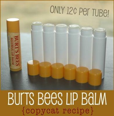Burts Bees Lip Balm