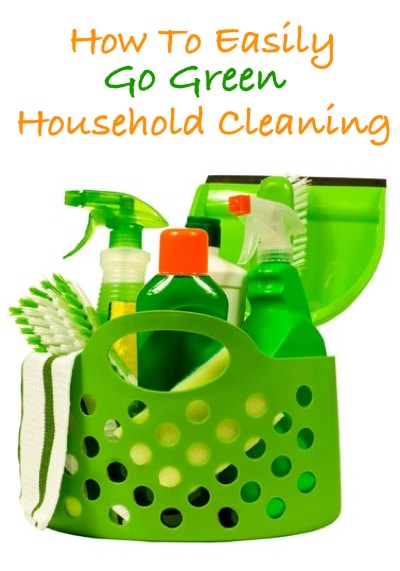 How To Go Green With Household Cleaning