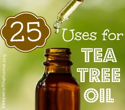 25 Uses For Tea Tree Oil
