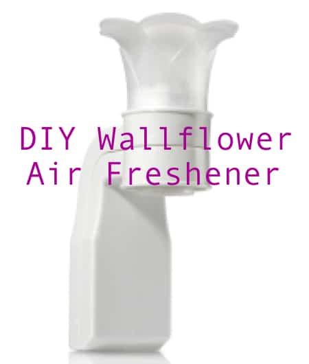 DIY Wallflower Plug In Air Freshener