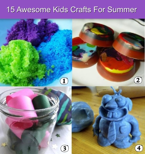 15 Kids Crafts For Summer