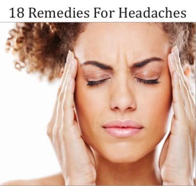 18 Remedies For Headaches