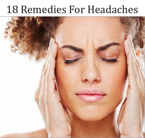18 Remedies For Headaches