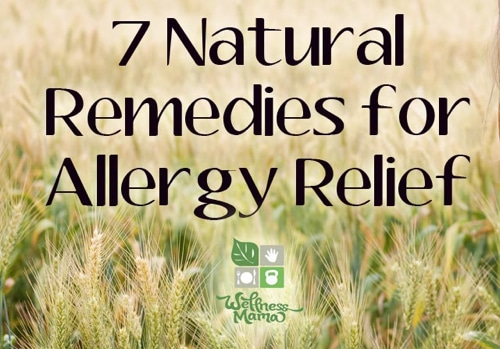 7 Natural Remedies For Seasonal  Allergy Relief