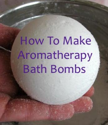 Homemade Bath Bomb Recipe