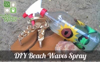DIY Beach Waves Sea Salt Spray