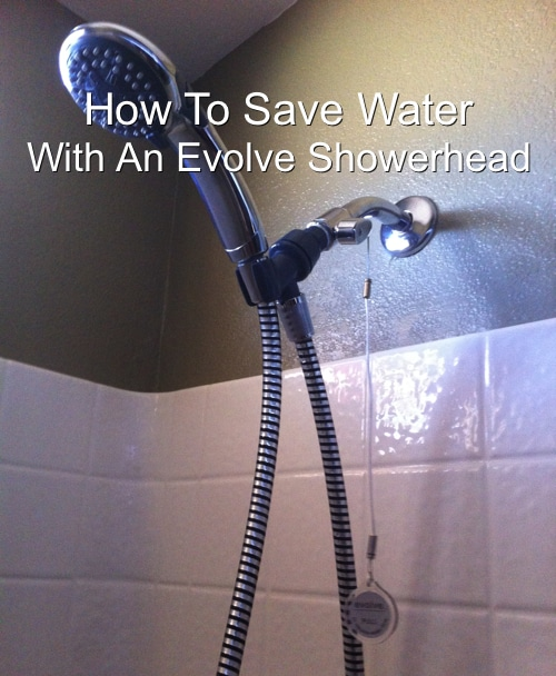 Conserve Water With An Evolve Showerhead