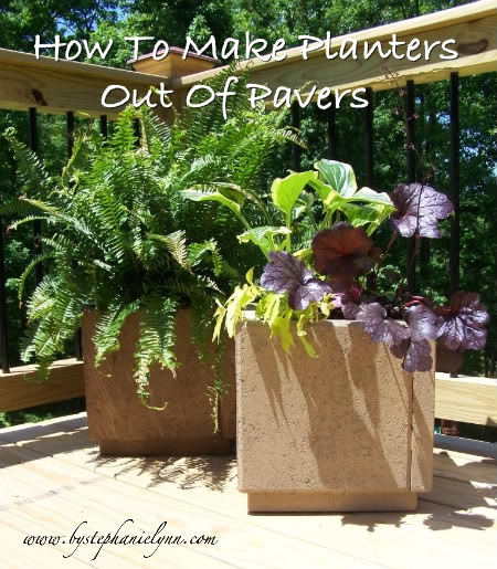 Make Planters From Pavers