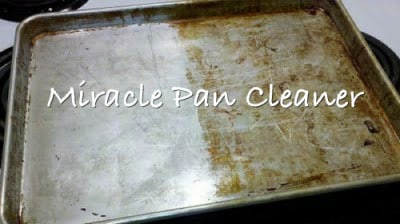 Miracle Cookie Sheet Cleaner