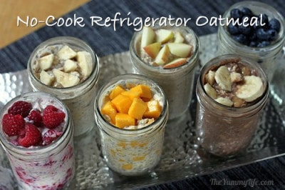No-Cook Refrigerator Oatmeal