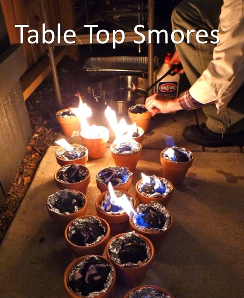 Table Top Smores