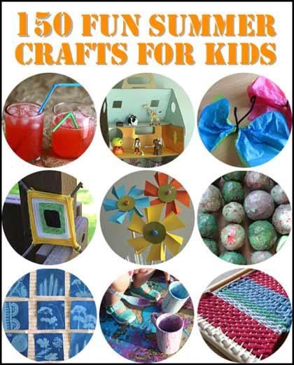 150 Fun & Creative Crafts For Kids