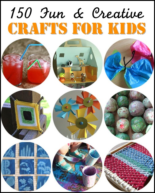 15 Creative Garden Ideas You Can Steal: 150 Fun & Creative Crafts For Kids