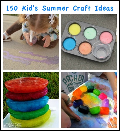 150 Creative Summer Crafts For Kids