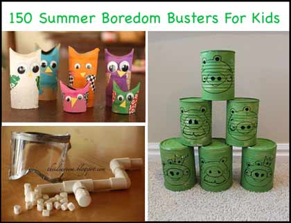 150 Awesome Summer Crafts For Kids