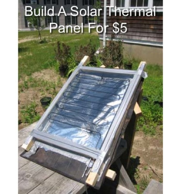 Build your own solar thermal panel homestead survival for How to make a solar panel for kids