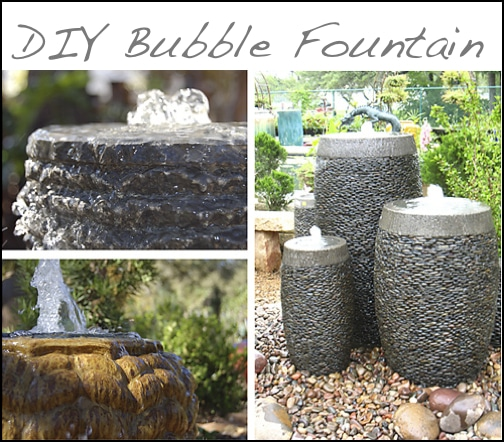 DIY Bubble Fountain
