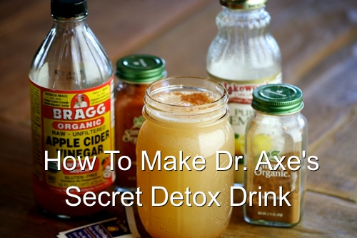 Dr. Axe's Homemade Detox Drink