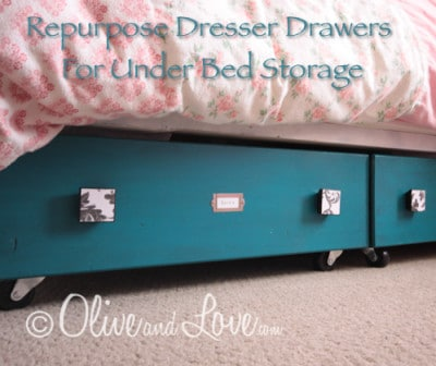 Dresser Drawers For Under Bed Storage
