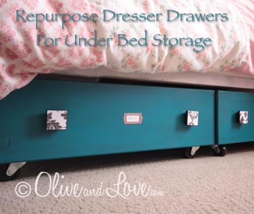 Dresser Drawers For Under Bed Storage