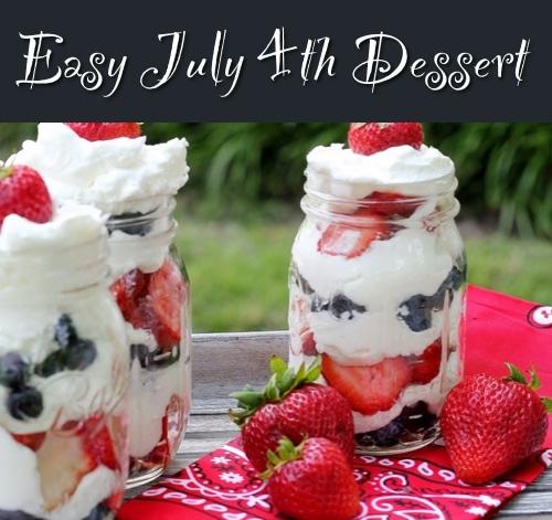 Fourth Of July Dessert