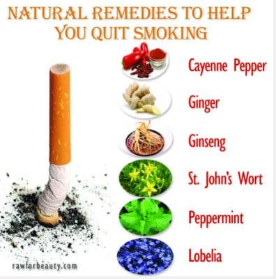 Natural Remedies To Quit Smoking
