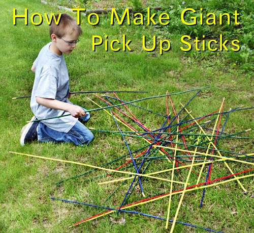 Outdoor Giant Pick Up Sticks