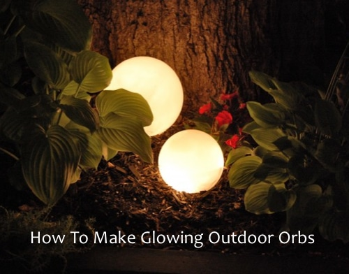 Outdoor Glow Orb Lights