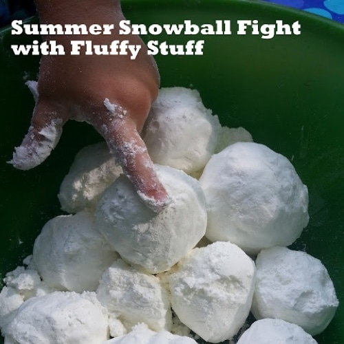 Summer Snowball Fight