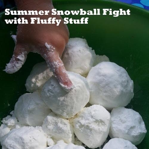 Summer Snowball Fight