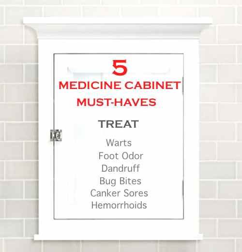 5 Medicine Cabinet Must-Haves