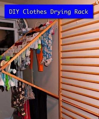 DIY-Clothes-Drying-Rack