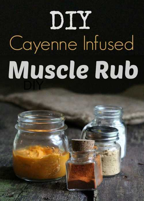 How To Make Cayenne Infused Muscle Rub