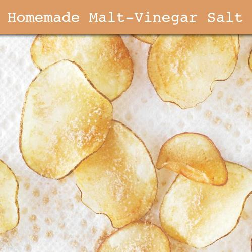 How To Make Homemade Malt-Vinegar Salt
