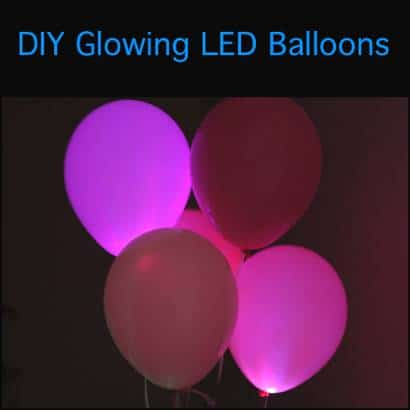 Dazzle Party Guests With Glowing LED Balloons