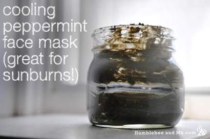 How-To-Make-A-Cooling-Peppermint-Face-Mask