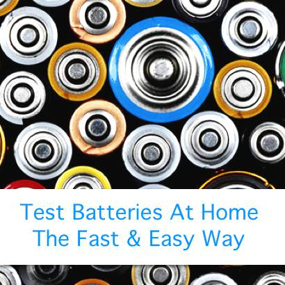 The Best Way To Test Batteries