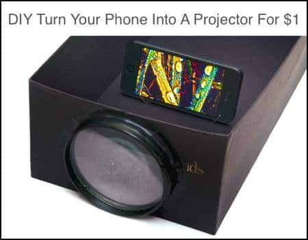 Tutorial: Turn Your Phone Into A Projector