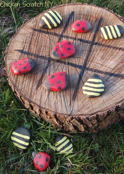 Create A Backyard Tic-Tac-Toe Game