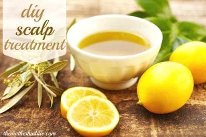 DIY All Natural Scalp Treatment