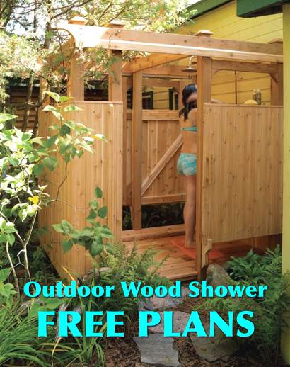 Free Plans For An Outdoor Wood Shower