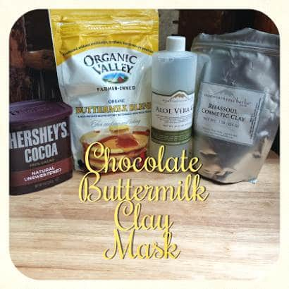 How To Make A Chocolate Buttermilk Clay Mask
