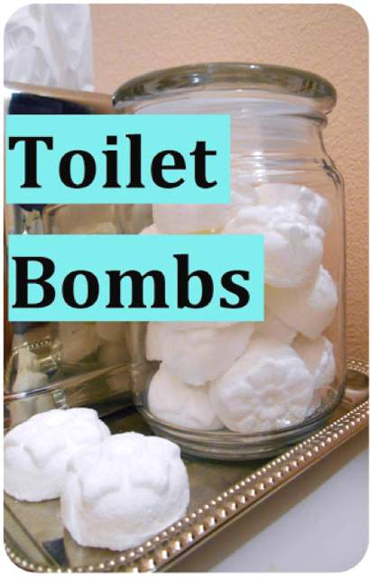How To Make Deodorizing Toilet Bombs