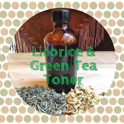How To Make Licorice And Green Tea Toner